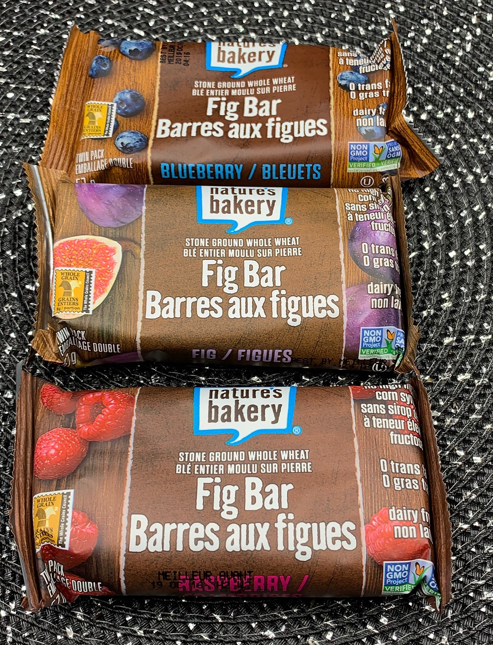 Costco Nature's Bakery Fig Bar Flavors