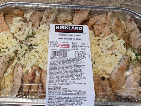Costco Kirkland Signature Chicken Penne Alfredo Review