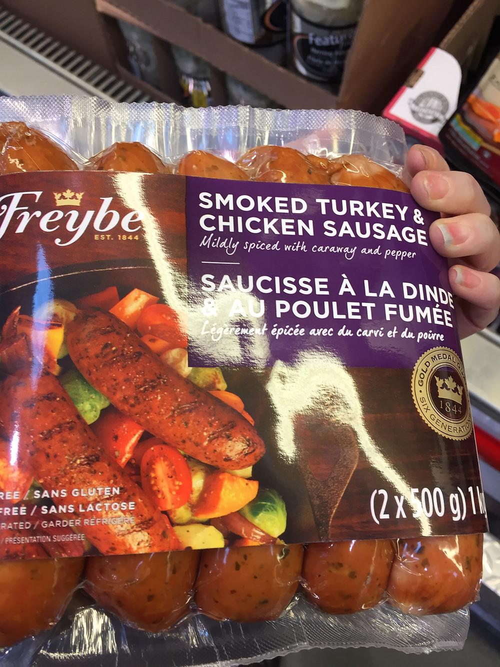 Costco Freybe Smoked Turkey & Chicken Sausage