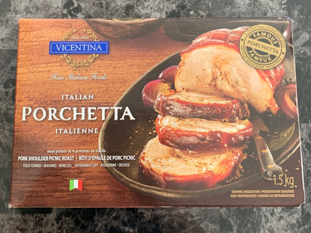 Costco Vicentina Italian Porchetta  Review