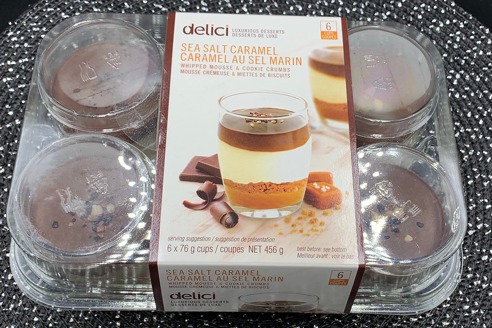 Costco Delici Sea Salt Caramel Mousse