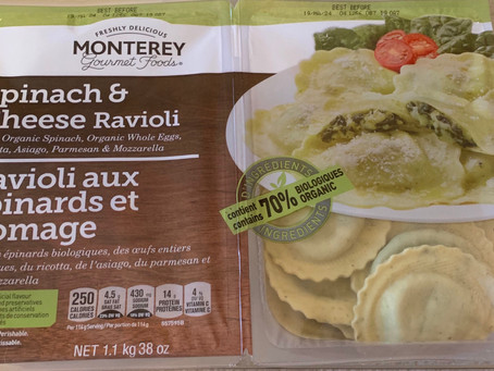 Costco Monterey Gourmet Foods Spinach & Cheese Ravioli Review