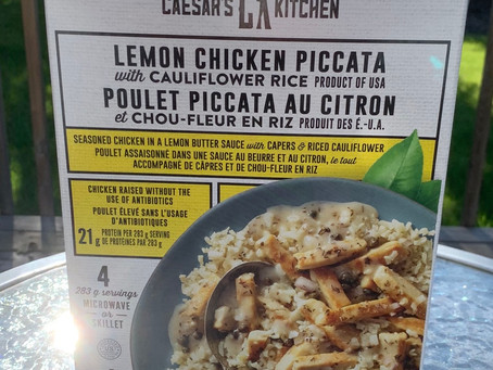 Costco Caesar's Kitchen Lemon Chicken Piccata Review