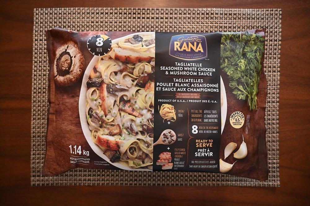 Costco Rana Tagliatelle Seasoned White Chicken & Mushroom Sauce