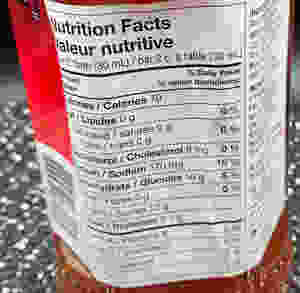 Costco Asian Creations Thai Kitchen Sweet Red Chili Sauce Nutrition