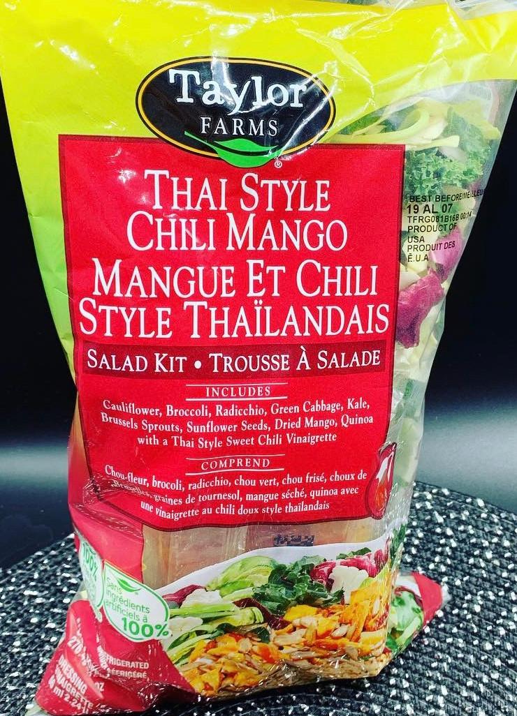 Costco Taylor Farms Thai Style Chili Mango Salad