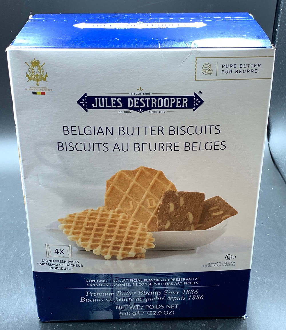 Costco Jules Destrooper Beglian Butter Biscuits