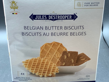 Costco Jules Destrooper Beglian Butter Biscuits Review