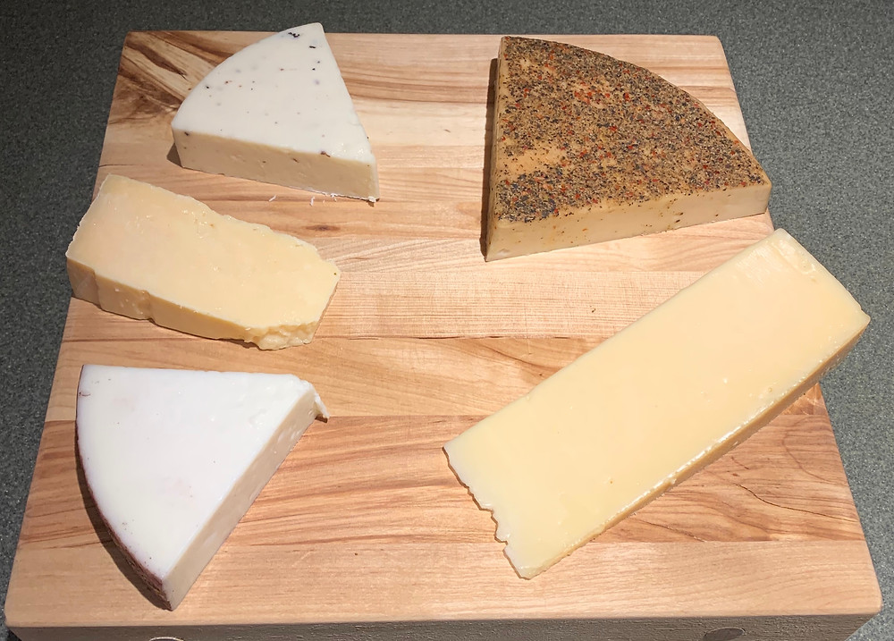 Costco Kirkland Signature Cheese Flight