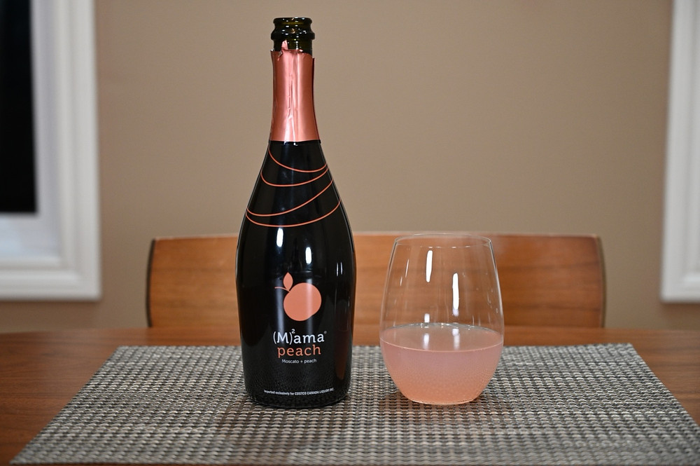 Costco Mama Peach Review Moscato