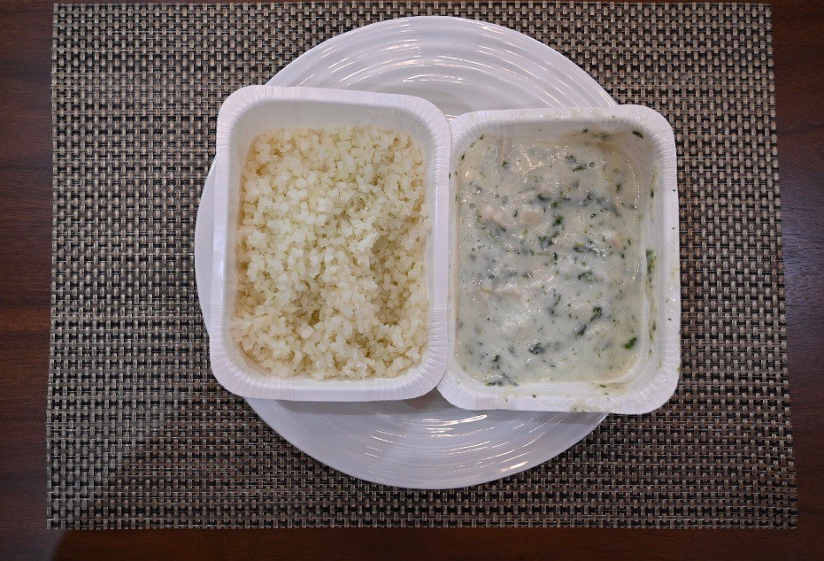 Costco Caesar's Kitchen Chicken Florentine with Riced Cauliflower