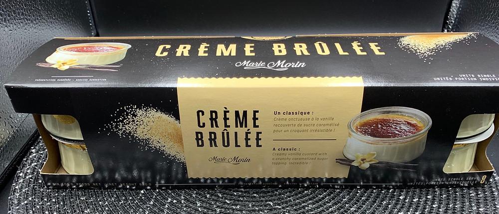 Costco Marie Morin Crème Brûlée