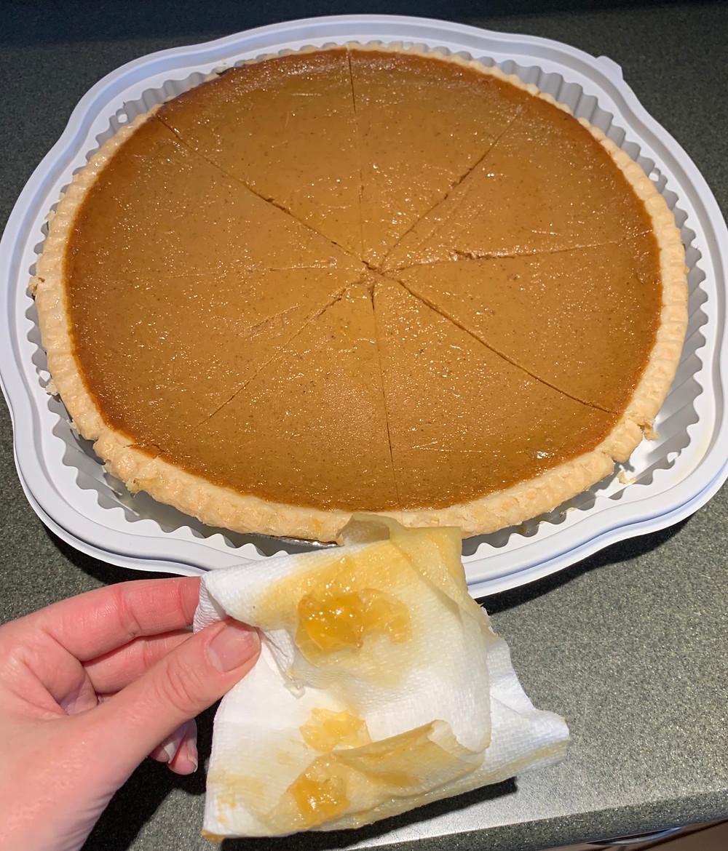 Costco Pumpkin Pie Glaze/Moisture