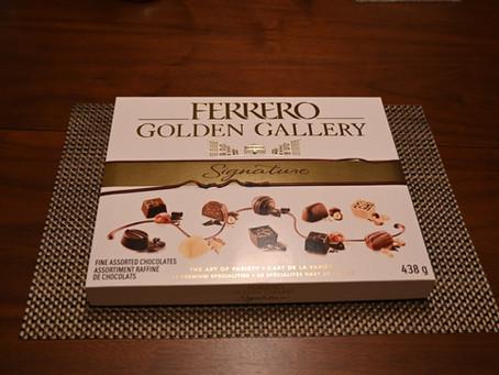 Costco Ferrero Golden Gallery Chocolates Review