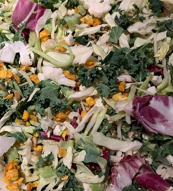 Costco Taylor Farms Thai Style Chili Mango Salad Kit Prepared