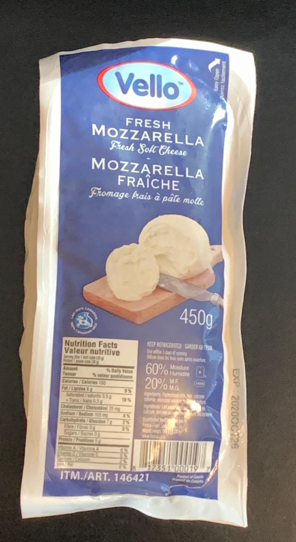 Costco Vello Fresh Mozzarella