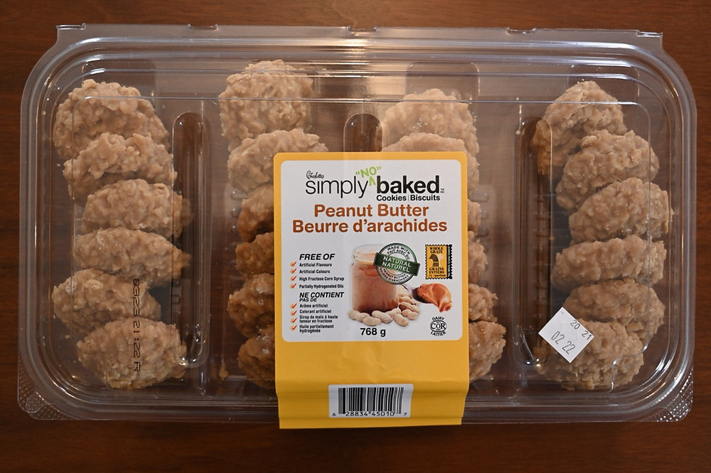 Costco Simply No Baked Peanut Butter Cookies