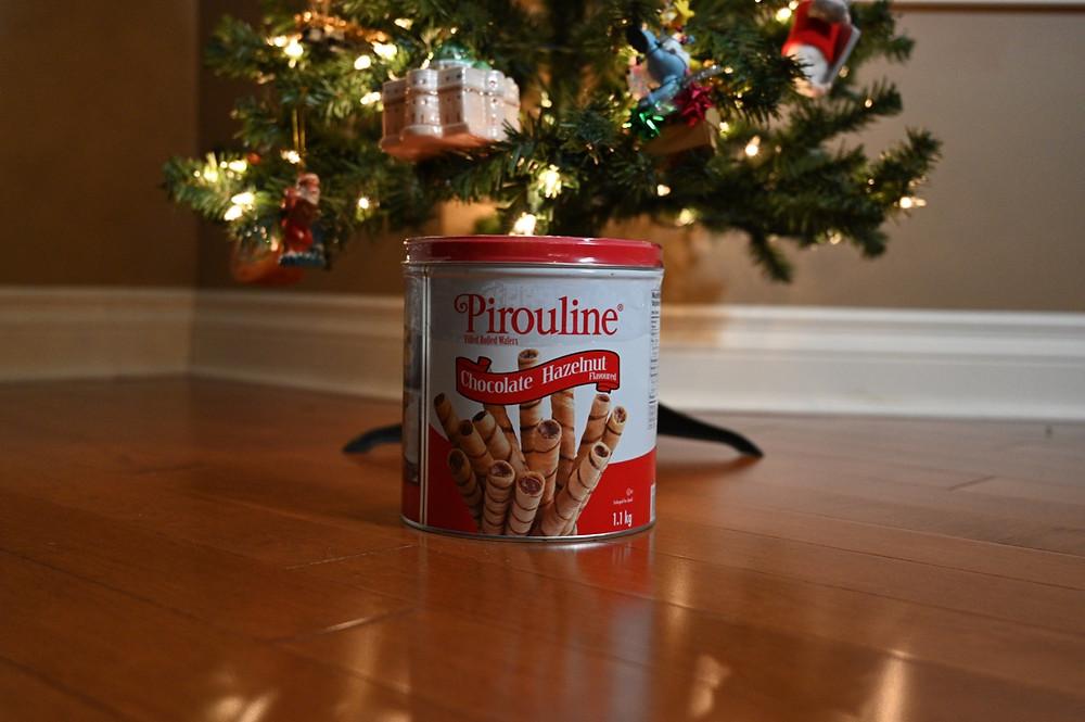 Costco Pirouline Chocolate Hazelnut Wafers