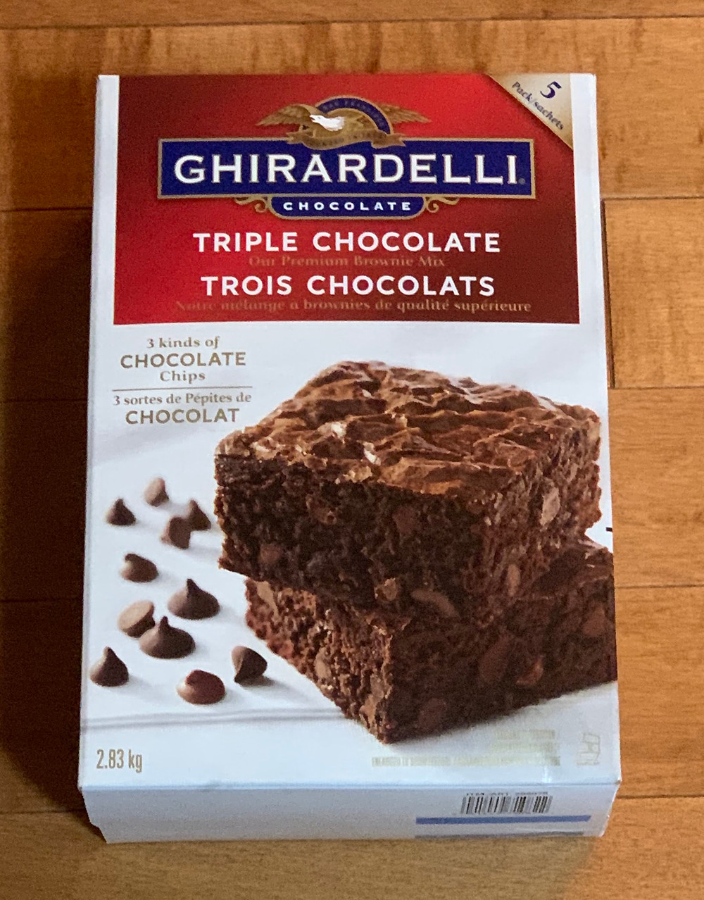Costco Ghirardelli Triple Chocolate Brownie Mix
