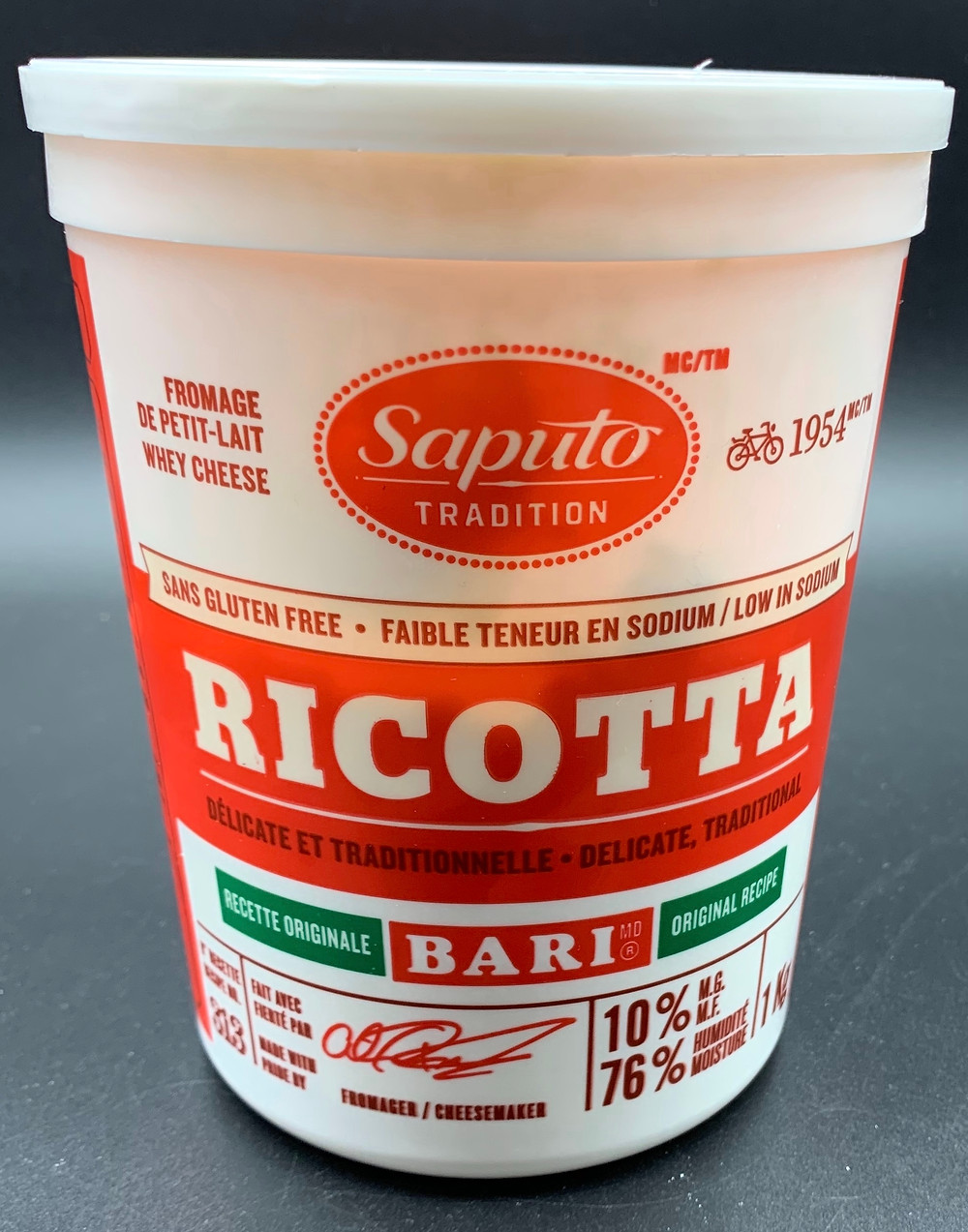 Costco Saputo Ricotta Cheese