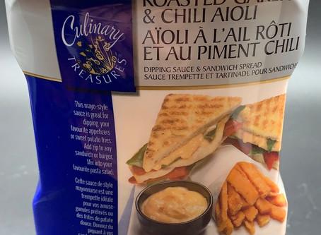 Costco Culinary Treasures Roasted Garlic & Chili Aioli Review