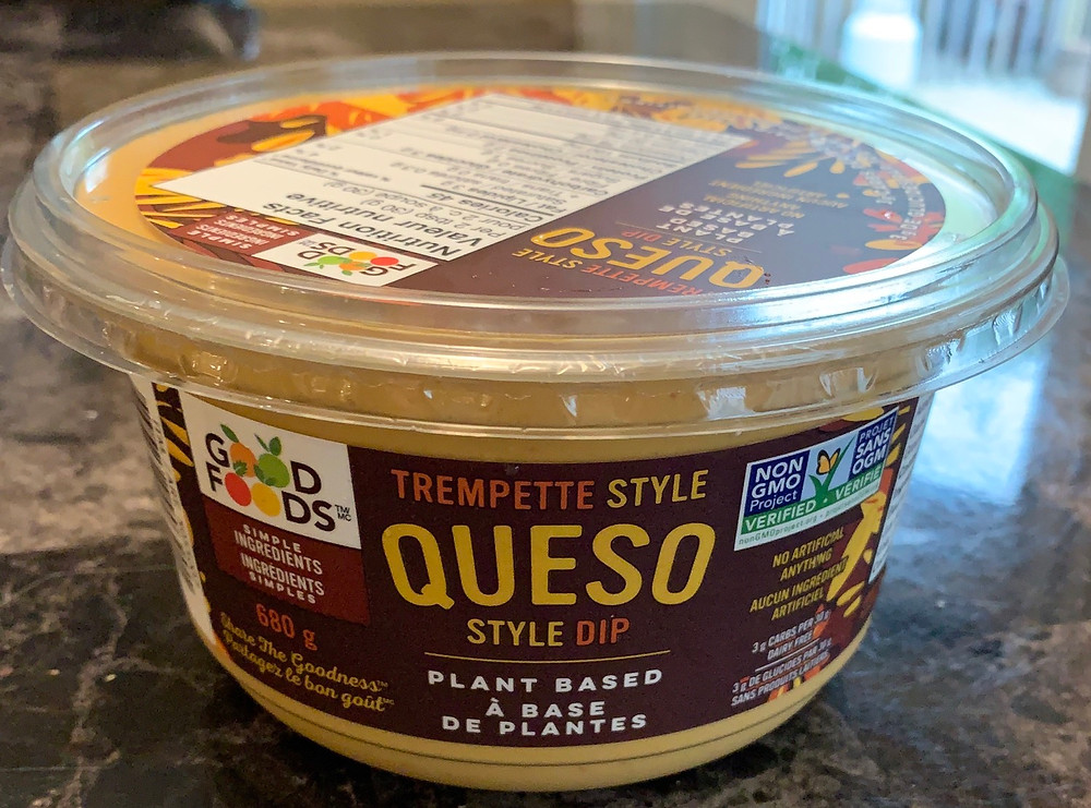 Costco Good Foods Plant Based Queso Style Dip