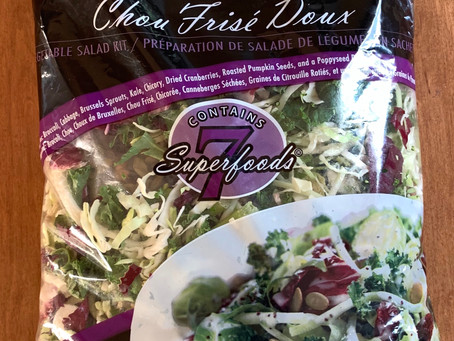 Costco Eat Smart Sweet Kale Salad Kit Review