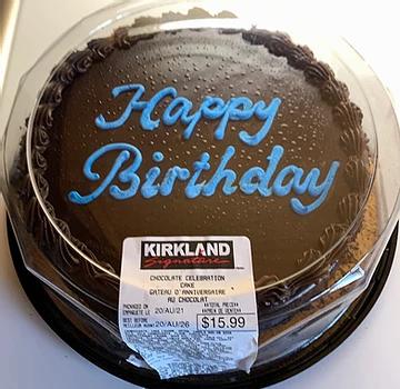 Costco Kirkland Signature Chocolate Celebration Cake