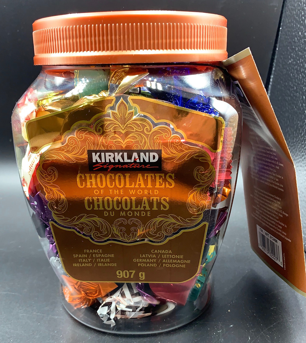 Costco Kirkland Signature Chocolates Of The World
