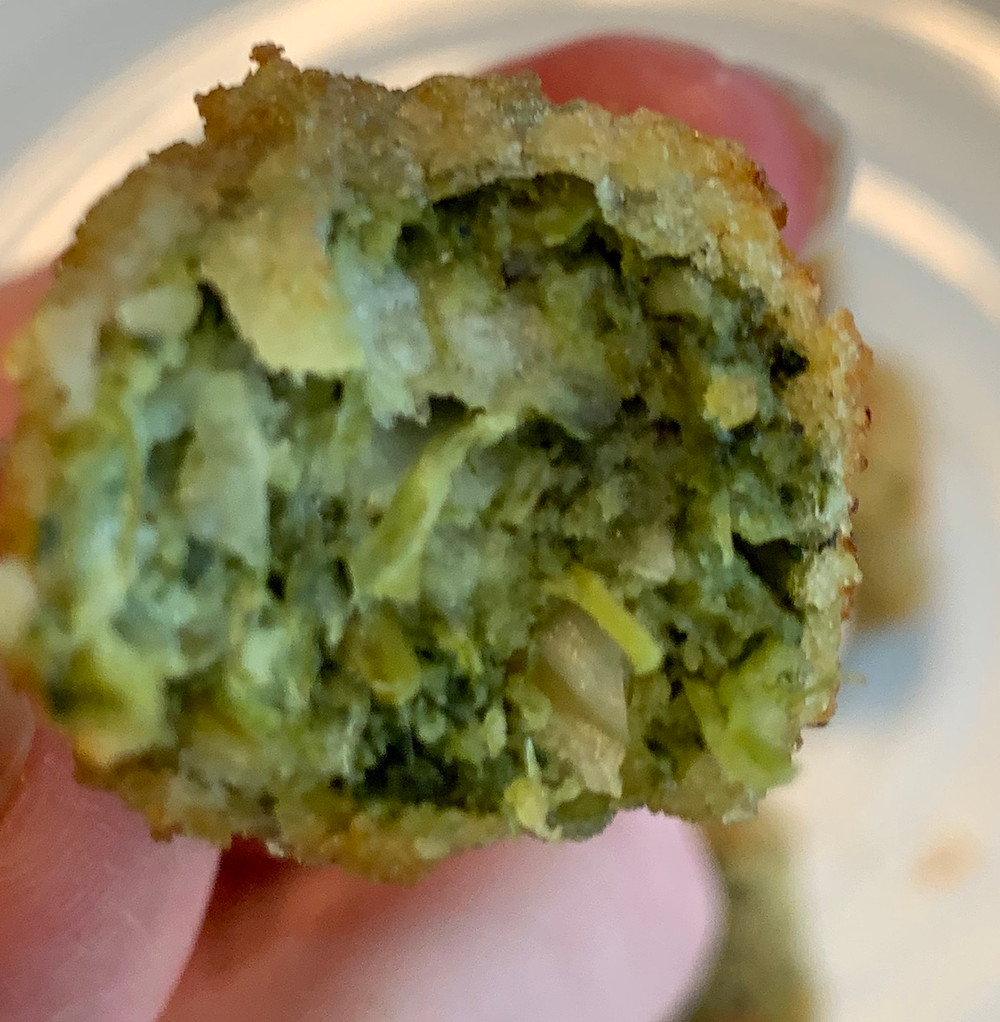 Sol Cuisine Plant Based Spinach Chickpea Bites