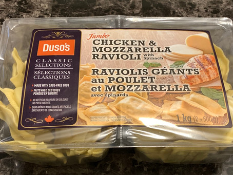 Costco Duso's Jumbo Chicken & Mozzarella Ravioli Review