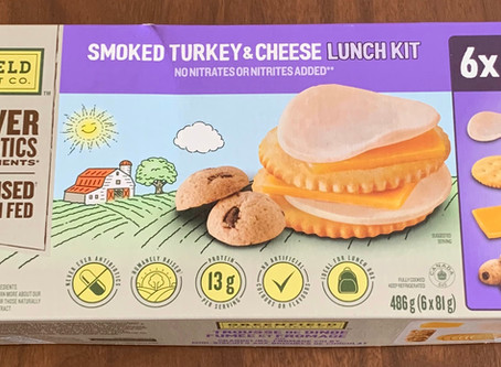 Costco Greenfield Natural Meat Co Smoked Turkey & Cheese Lunch Kit Review