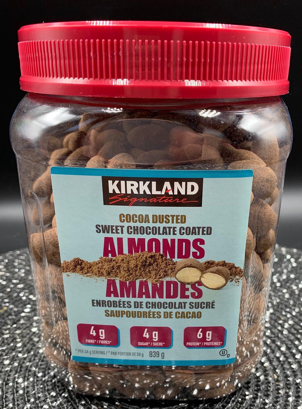 Costco Kirkland Signature Cocoa Dusted Sweet Chocolate Almonds