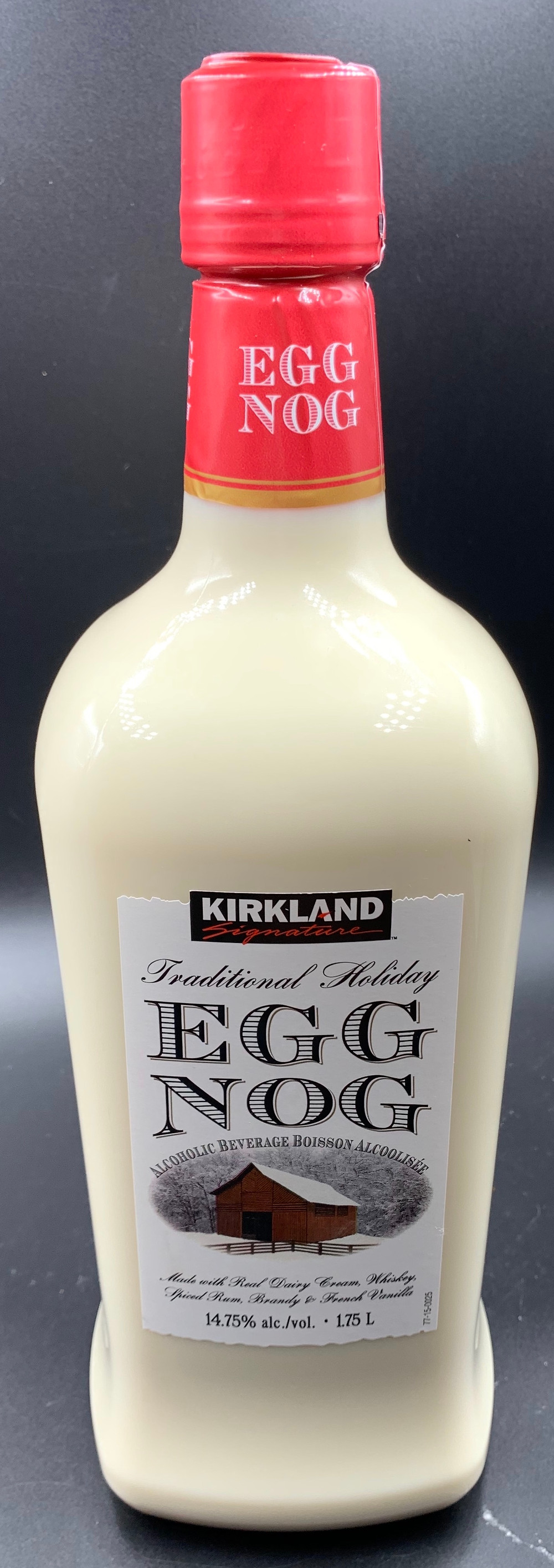Costco Kirkland Signature Traditional Holiday Egg Nog