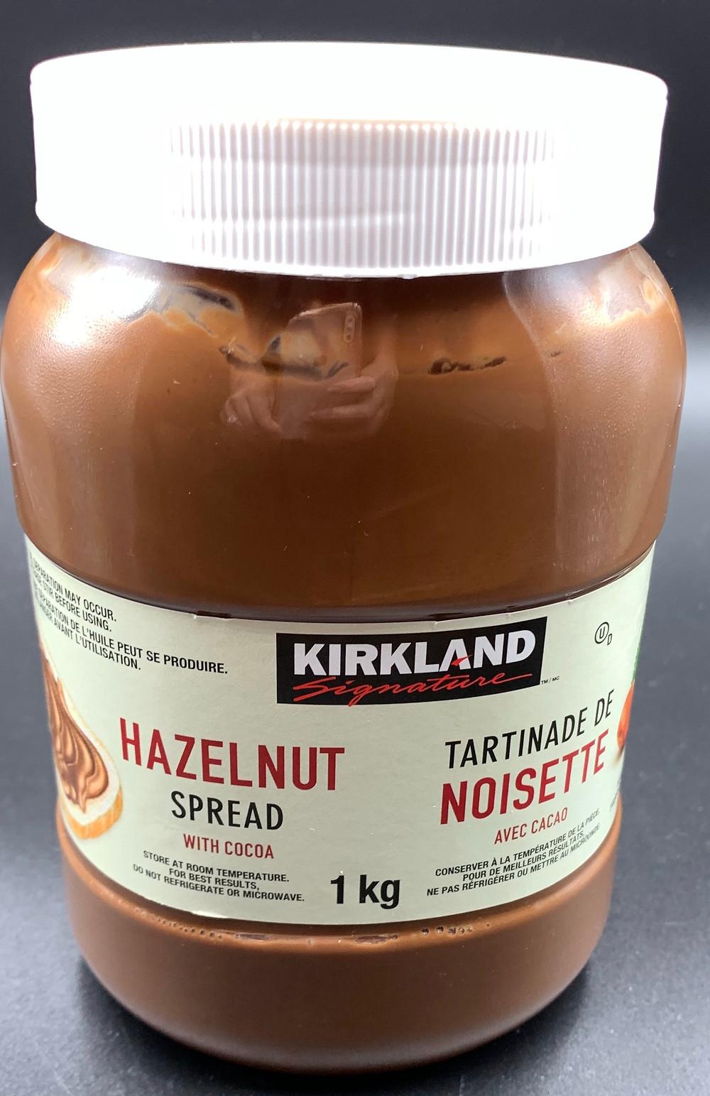 Costco Kirkland Signature Hazelnut Spread