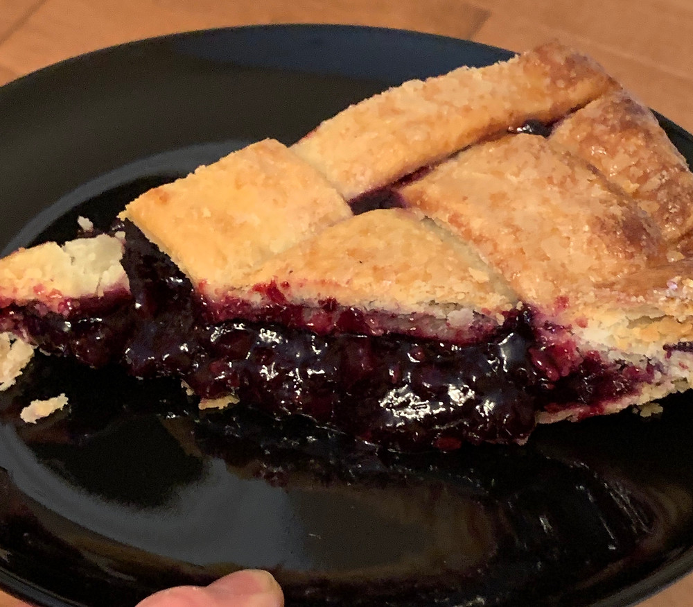 Costco Kirkland Signature Wild Blueberry Lattice Pie Ingredients