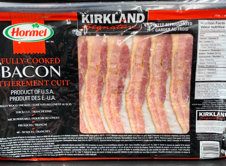 Costco Kirkland Signature Hormel Fully Cooked Bacon Review
