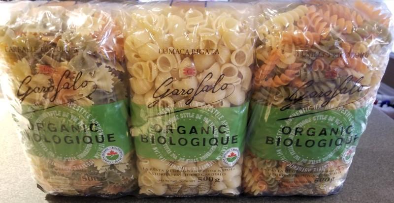 Costco Garofalo Organic Pasta