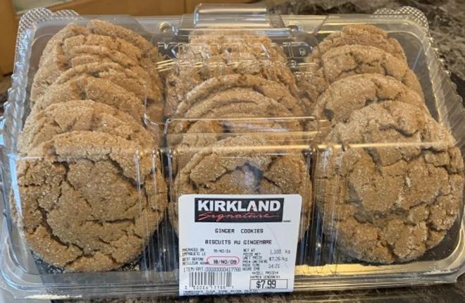 Costco Kirkland Signature Ginger Cookies