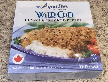 Costco AquaStar Smart Seafood Lemon & Cracked Pepper Wild Cod Review