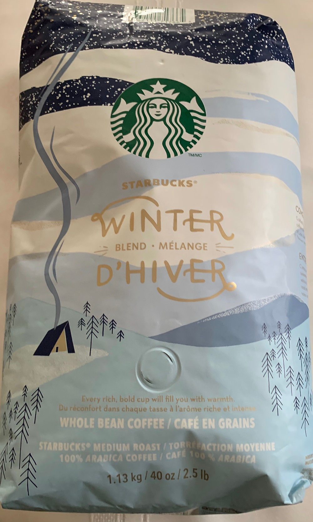 Costco Starbucks Winter Blend Coffee