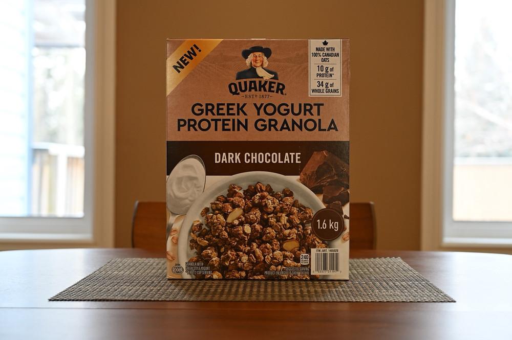 Costco Quaker Greek Yogurt Protein Granola