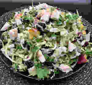 Natalie's Blackberry Avocado Costco Sweet Kale Salad