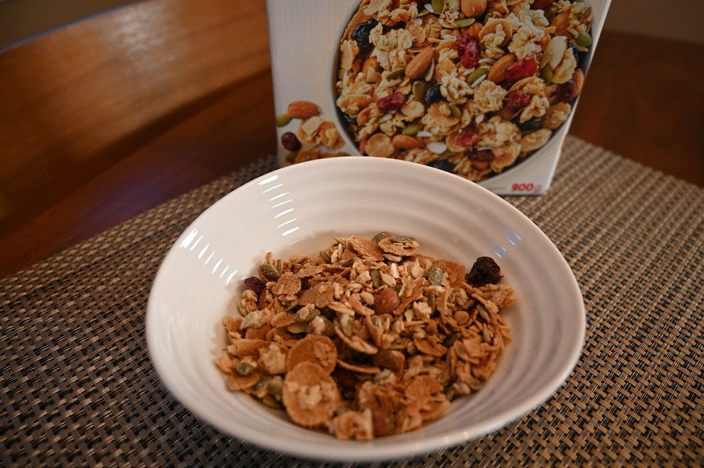 Costco innofoods Almond Fruit Crunch Cereal