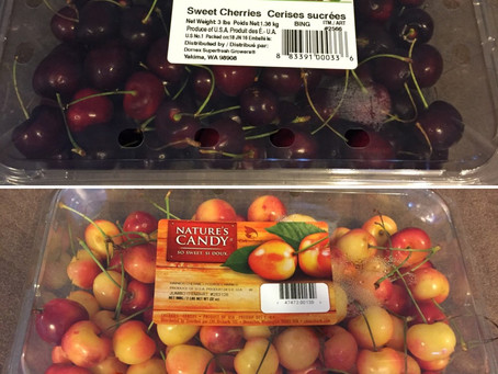 Costco Bing Cherries Versus Rainier Cherries