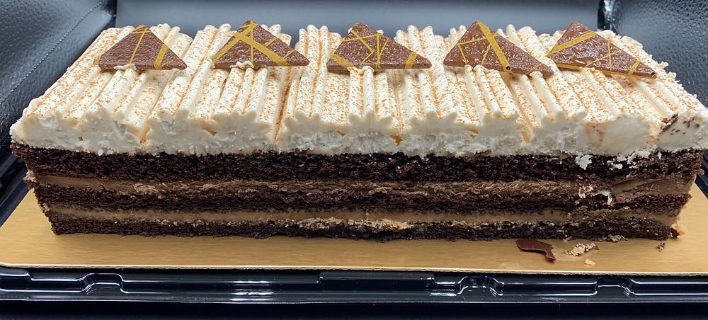 Costco Kirkland Signature Chocolate Crunch Cake