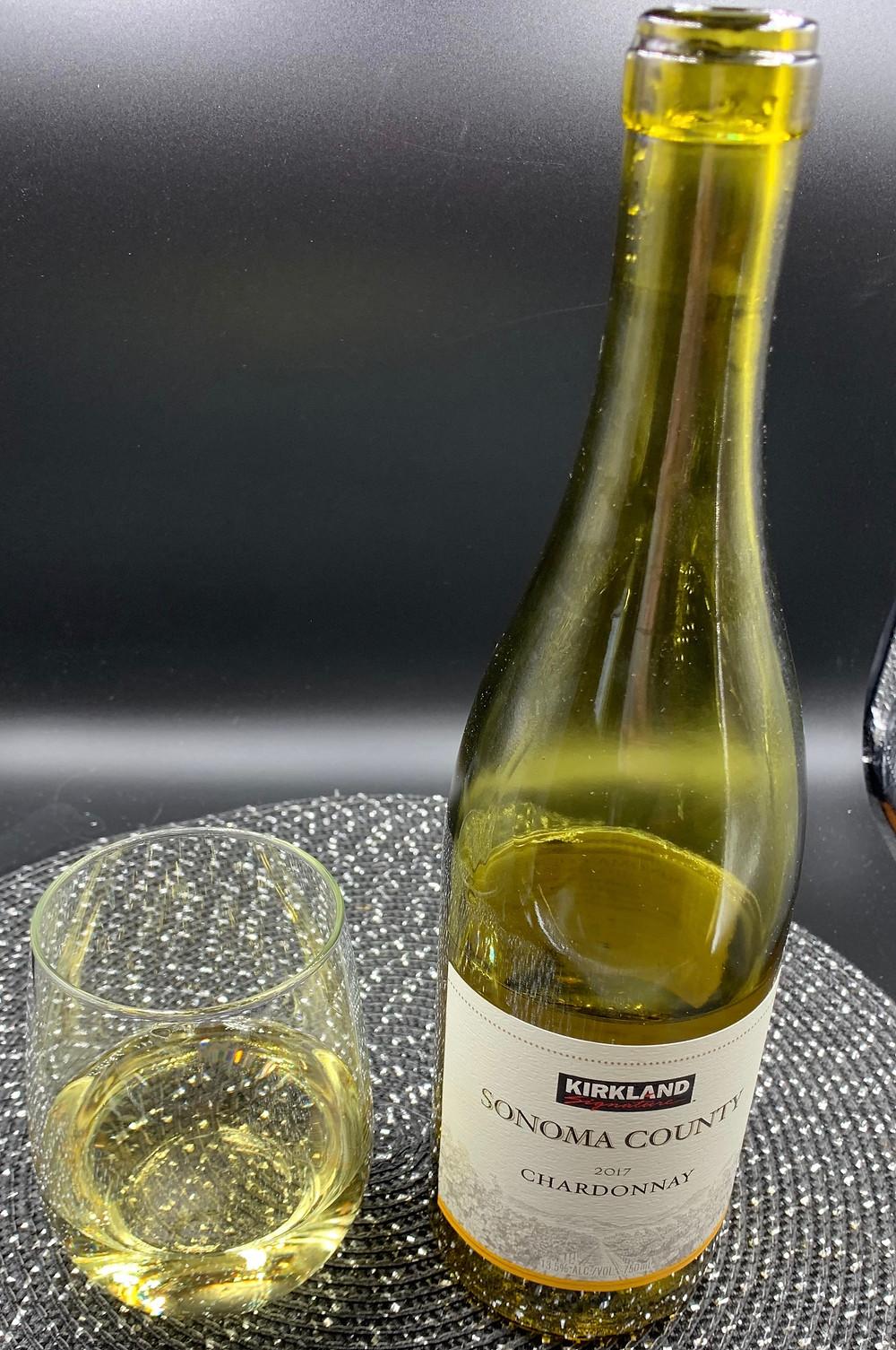 Costco Kirkland Signature Sonoma County 2017 Chardonnay