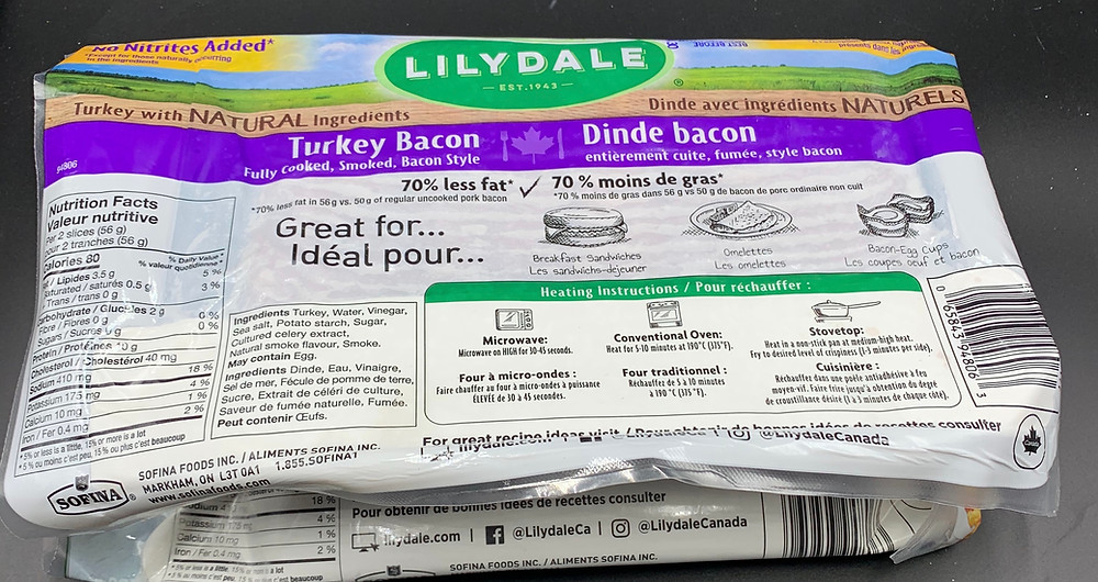 Costco Lilydale Turkey Bacon