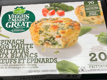 Costco Garden Lites Veggies Made Great Spinach Egg White Frittatas Review
