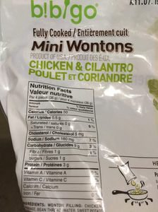 Costco Bibigo Chicken and Cilantro Wontons Review